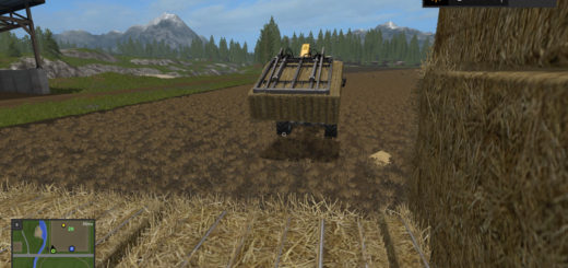 Мод Bressel and Lade Bale Grab v 1.0 Farming Simulator 2017