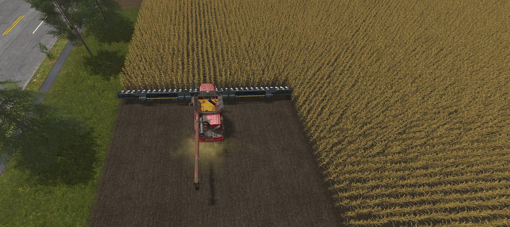 Мод жатка CAPELLO HS30 V6 Farming Simulator 17