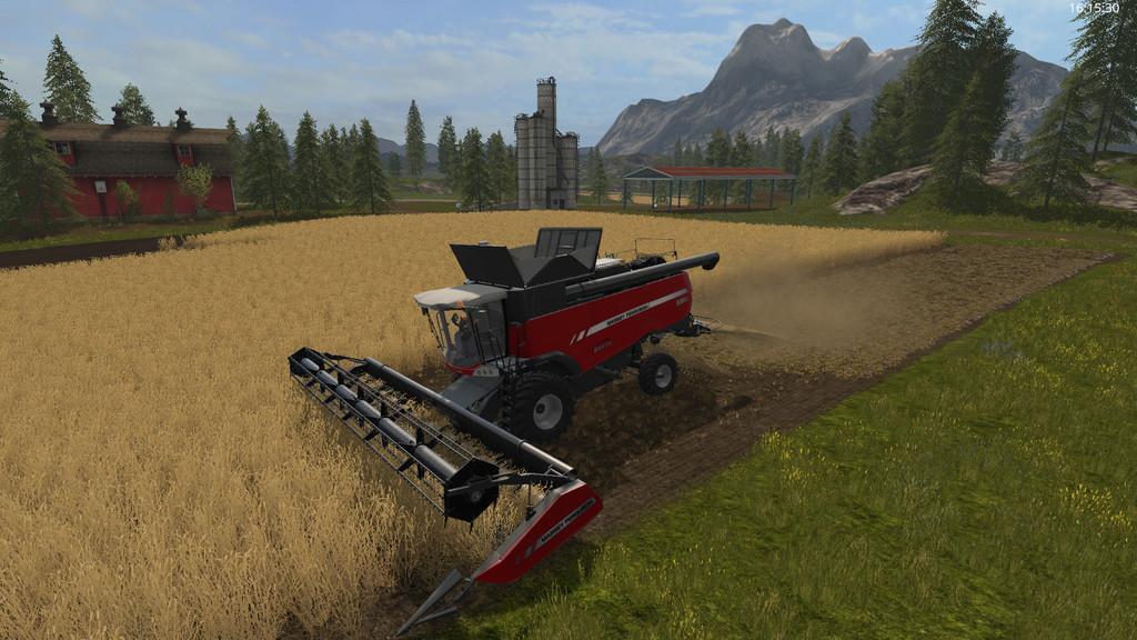 Мод скрипт Chopped Straw v 1.0.0.6 Farming Simulator 2017