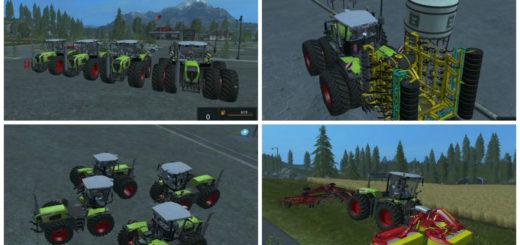 Мод трактор CLAAS XERION 3800 VC V1.0 Farming Simulator 17