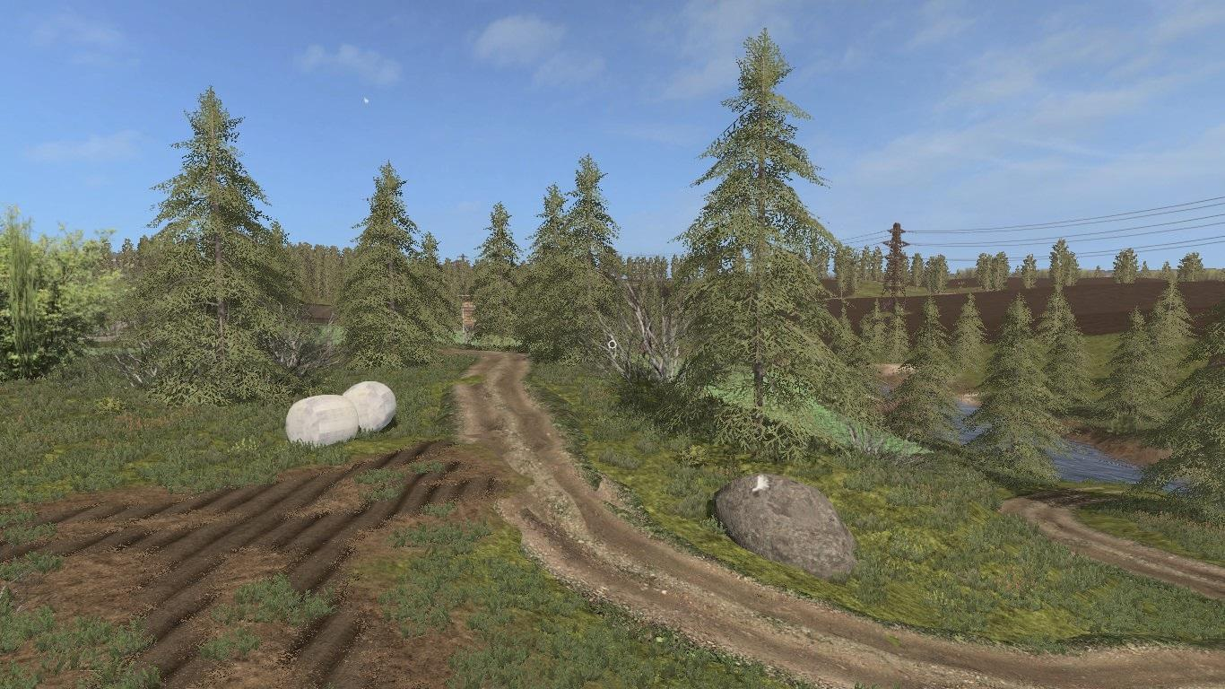 Мод карта CZECH MAP v 3.0 Farming Simulator 2017