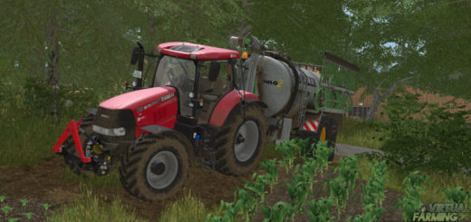 Мод трактор Case IH Puma CVX v 1.0 Farming Simulator 2017