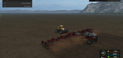 Мод сеялка CaseIH Cart Air Seeder 32m v 2.0 Farming Simulator 17