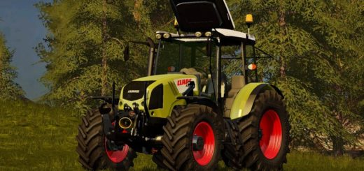 Мод трактор Claas Axos 330 v 1.0 Farming Simulator 2017