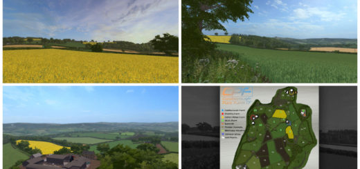 Мод карта Coldborough Park Farm Version 1.0.0.1 Farming Simulator 17