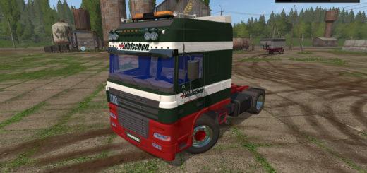 Мод тягач DAF XF Hohlschen v 1.0 Farming Simulator 2017
