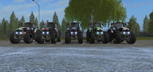 Мод трактора Deutz Fahr Series 9 Designer Edition v 1.1.1 Farming Simulator 17