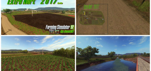 Мод карта Extre Nort 2017 v 1.0 beta Farming Simulator 2017