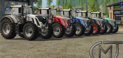 Мод трактор Fendt 900 Series MoreReality v 1.2 Farming Simulator 2017