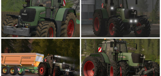 Мод трактор Fendt 930 TMS v 1.1.1.1 Farming Simulator 2017