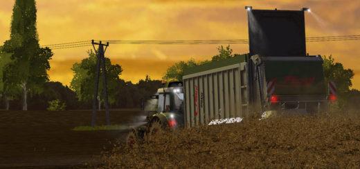 Мод прицеп Fliegl Gigant ASW 268 Manure v 1.0.0.0 Farming Simulator 2017