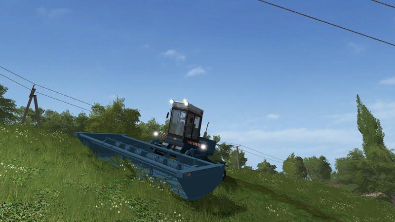 Мод газонокосилка Fortschritt E 302 Farming Simulator 2017