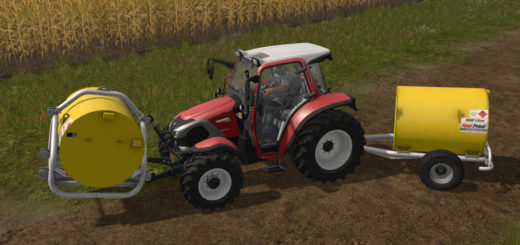 Мод Fuel Proof Package #1 Farming Simulator 2017
