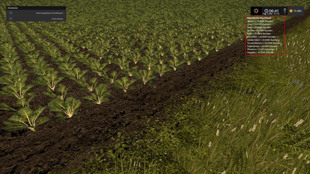 Мод скрипт Growth Control v 17.1 Farming Simulator 2017