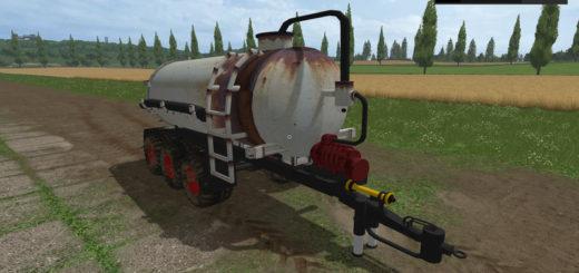 Мод бочка Guelle Tridem v 1.0 Farming Simulator 2017
