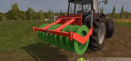 Мод каток Holaras Stego 200 Eco v 1.0.0 Farming Simulator 2017