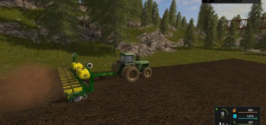 Мод сеялка John Deere 1760 12 Row Planter v 1.0 Farming Simulator 17