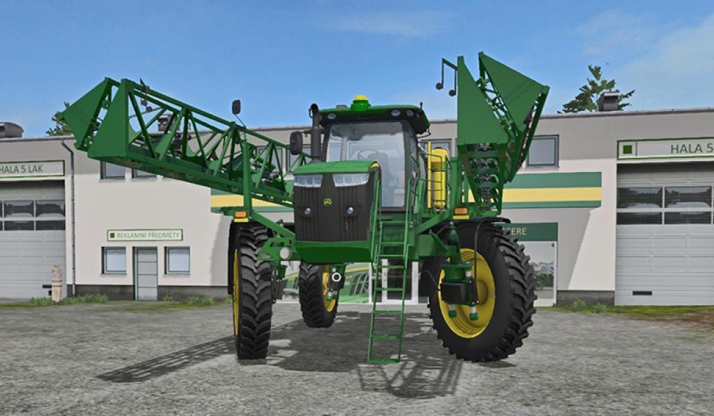 Мод опрыскиватель John Deere R4045 v 1.0 Farming Simulator 2017