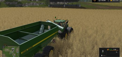 Мод прицеп JOHN DEERE 650 V1.0.0.1 Farming Simulator 2017