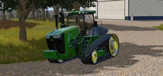 Мод трактор JOHN DEERE 9RT Farming Simulator 2017