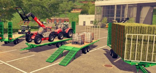 Мод прицеп Joskin wago loader 10m / 8m autoloader v 1.0.0.2 Automatic Farming Simulator 17