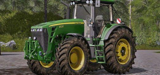Мод трактор John Deere 8530 V 2.1 Farming Simulator 2017