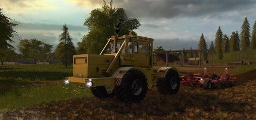 Мод трактор Кировец KIROVETS K-700A V1.0.1.0 Фарминг Симулятор 2017