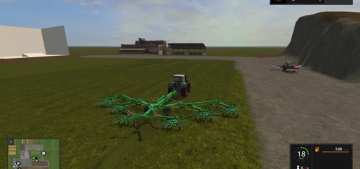 Мод Krone Swadro 2000 v 1.17 Farming Simulator 2017