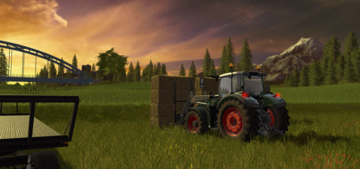 Мод вилы Large bale fork H v 1.0.0.2 Farming Simulator 17