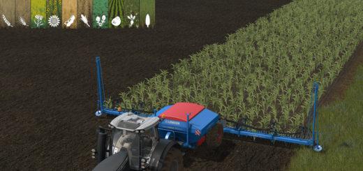 Мод сеялка Lemnken Solitair 12 MultiSeed v 1.17 Farming Simulator 2017