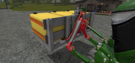Мод Liquid Fertilizer Tanks v 1.0 Farming Simulator 17
