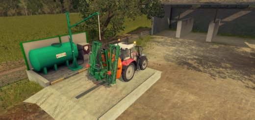 Мод Liquid Fertilizer station Beiser v1.0 Farming Simulator 2017