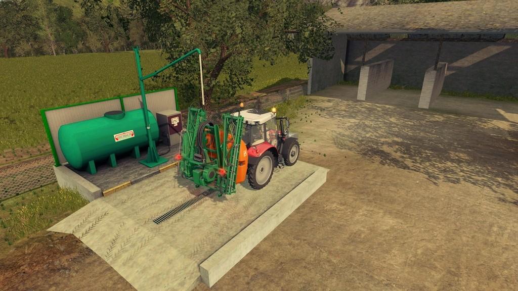 Мод Liquid Fertilizer station Beiser v1.0 Farming Simulator 2017
