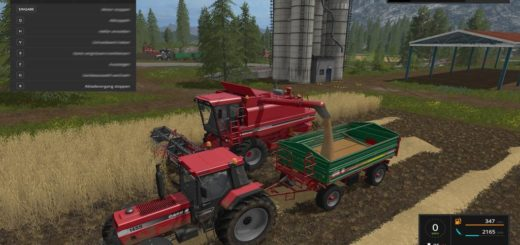 Мод скрипт Manual unloading v 1.0.0.0 Farming Simulator 2017