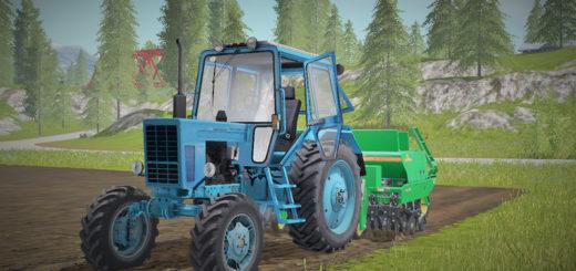 Мод трактор МТЗ MTZ 82UK V 3.0 Фермер Симуцлятор 2017
