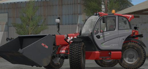 Мод погрузчик Manitou MLT 840 v 1.0.0.0 Farming Simulator 2017
