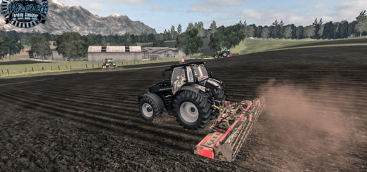 Мод культиватор Maschio Gabbiano 6000 Super v1.1 Farming Simulator 2017