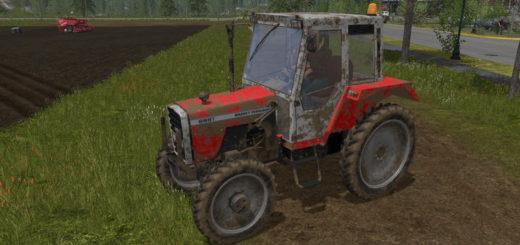 Мод трактор Masseey Ferguson 698FT v 1.0 Farming Simulator 17