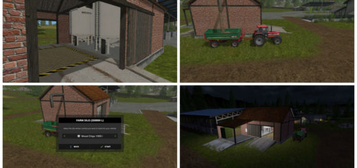 Мод хранилище Multi Storage Shed v 1.3 Farming Simulator 2017