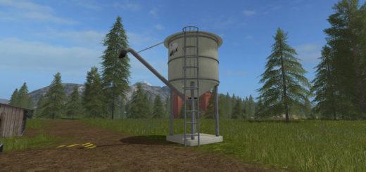 Мод Pig feed silo v 1.0 Farming Simulator 2017