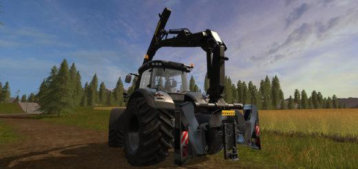 Мод Ponsse Mounted Crane for Tractors v 1.0 Farming Simulator 2017