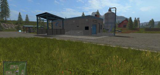 Мод HoT Seeds and Fertilizer Produktion v 1.1 Farming Simulator 17