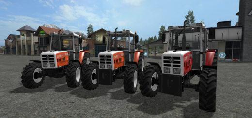 Мод трактор STEYR 8090a Turbo SK2 v 1.5 Farming Simulator 2017