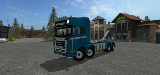 Мод Scania R730 IT Runner V 1.0 Farming Simulator 17