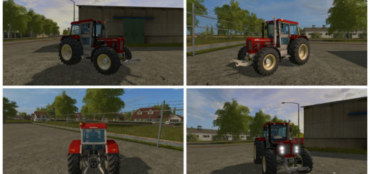 Мод трактор Schlueter 1500 TVL v 0.9 Farming Simulator 17