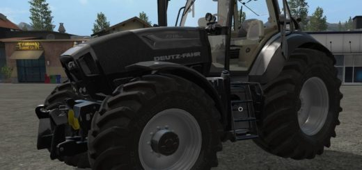 Мод трактор Deutz Fahr Series 7 v 1.0 Farming Simulator 2017