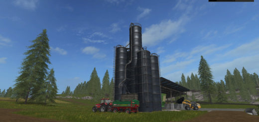 Мод Silage Silo UPK v 0.6 Placeable Farming Simulator 2017