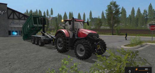 Мод модуль Tebbe Manure Spreader v 2.0 Farming Simulator 2017