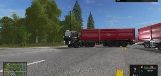 Мод TATRA 158 Phoenix 8x8 v 1.1 Farming Simulator 17