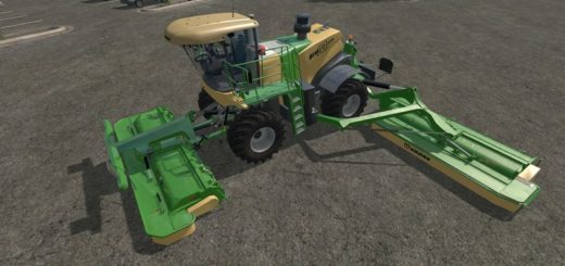 Мод Krone BiG M v 1.2 Farming Simulator 17
